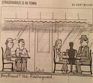 Stradivarius Cartoon, February 2012