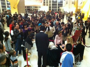 Signing CD's in Shenzhen, China March 16, 2012