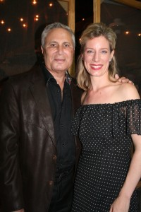 John Corigliano and Elizabeth Pitcairn at Luzerne Music Center