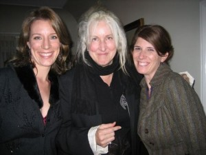 12/2006 Elizabeth, movie director Betty Thomas,(I Spy, Howard Stern) and movie producer Athena Ashburn,(Bobby) at her Hollywood Christmas Party.
