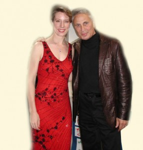 "2/26/2005 Elizabeth and John Corigliano, the Academy Award-winning composer of the music to the film ""The Red Violin."" Mr. Corigliano attended Elizabeth's performance of his concert work, ""The Red Violin Chaconne"" with the Norwalk Symphony, CT."