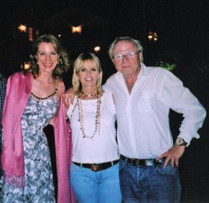 9/2006 Party at the home of Wolfgang and Maria Petersen, movie director (Das Boot, Air Force One, In the Line of Fire.)