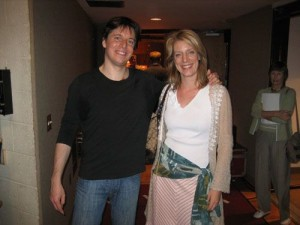 Elizabeth and Joshua Bell in at Meyerhoff Symphony Hall in Baltimore 6/06