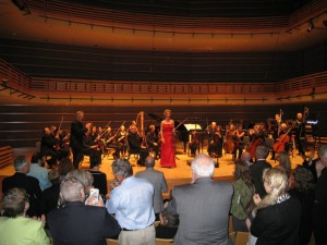 Finishing the Red Violin Suite with Orchestra 2001, Kimmel Center May 2009