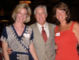 "Liz and Carolyn with the USC Trojans football coach Pete Carroll at ""Meet the Coaches"" June 10, 2009."