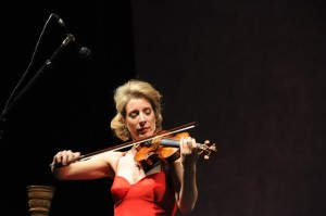 Performing with the Knickerbocker Chamber Orchestra in NY January 17, 2009.