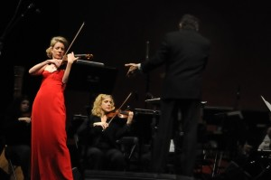 Performing The Suite from the Red Violin by John Corigilano in NYC conducted by Gary Fagin. January 17, 2009