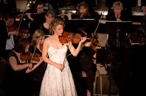 Performing Bruch Concerto with Toccata-Tahoe at CalNeva Resort in February, 2010