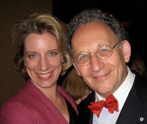 At a New West Symphony gala with conductor, Maestro Boris Brott.